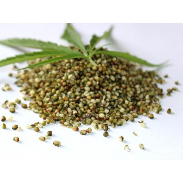 Обрушенные семена технической конопли (ядро)