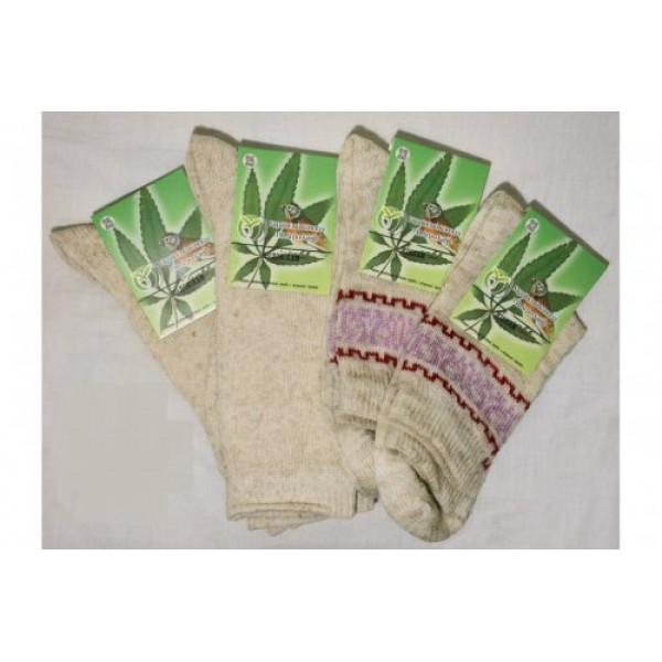Носки конопляные