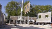 Французские технологии создания быстровозводимых зданий из костробетона (видео)