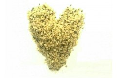 Обрушенные семена конопли (дробленые) весом в 1 кг